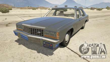 1987 Ford LTD Crown Victoria für GTA 5