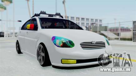 Hyundai Accent Essential Garage pour GTA San Andreas