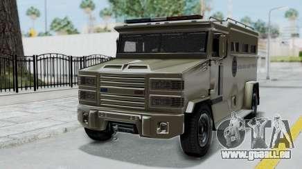 GTA 5 Brute Riot Police IVF pour GTA San Andreas