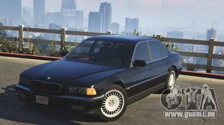 BMW 750i (e38) pour GTA 5