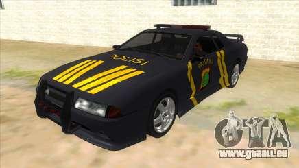 Elegy NR32 Police Edition Grey Patrol pour GTA San Andreas