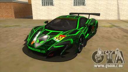 McLaren 650S GT3 Alien PJ für GTA San Andreas