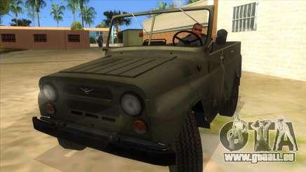 UAZ-469 Green für GTA San Andreas