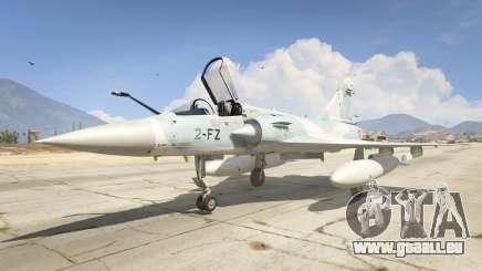 Dassault Mirage 2000-5 für GTA 5