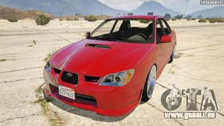 2006 Subaru Impreza WRX STI JDM für GTA 5