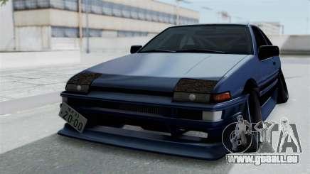 Toyota AE86 Trueno Hella pour GTA San Andreas
