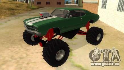 1970 Chevrolet Chevelle SS Monster Truck für GTA San Andreas