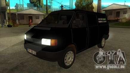 VW T4 Räder Mrtvačka für GTA San Andreas