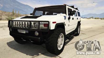 Hummer H2 pour GTA 5