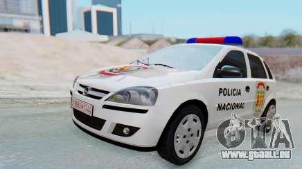 Opel Corsa C Policia pour GTA San Andreas