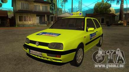 VW Golf Mk3 Top Speed Auto Skola pour GTA San Andreas