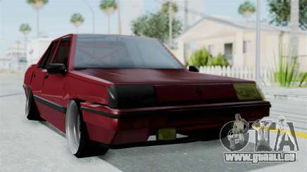 Proton Iswara 1985 Advanced pour GTA San Andreas