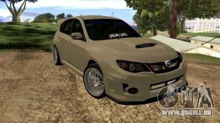 Subaru Impreza WRX STI 2008 LPcars v.1.0 pour GTA San Andreas