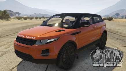 Range Rover Evoque 3.0 pour GTA 5