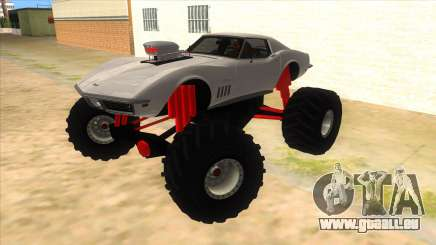 1968 Chevrolet Corvette Stingray Monster Truck pour GTA San Andreas