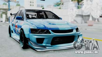 Mitsubishi Lancer Evolution IX MR Edition v2 pour GTA San Andreas
