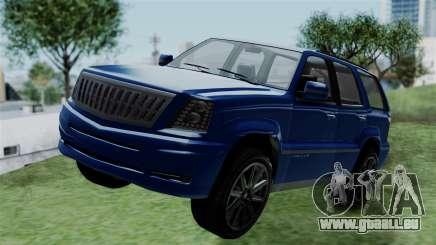 GTA 5 Albany Cavalcade v2 IVF für GTA San Andreas