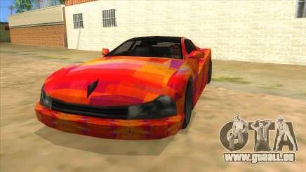 GTA 3 Cheetah ZTR für GTA San Andreas