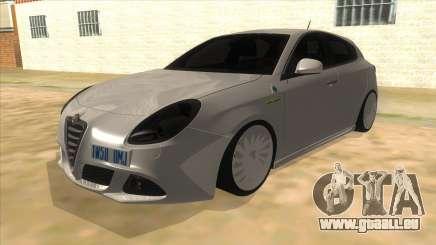2011 Alfa Romeo Giulietta pour GTA San Andreas