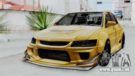 Mitsubishi Lancer Evolution IX MR Edition pour GTA San Andreas