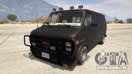 GMC Vandura (A-Team Van) pour GTA 5