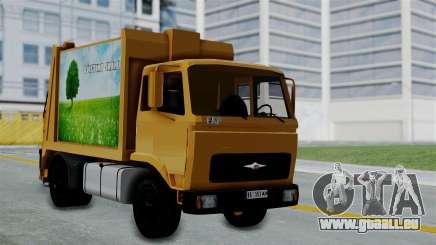 FAP Đubretarski Truck für GTA San Andreas