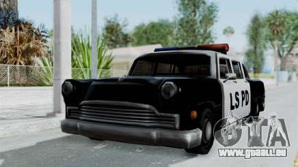 Police Cabbie pour GTA San Andreas