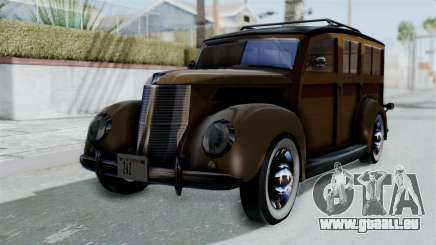 Lincoln Continental 1942 Mafia 2 v1 pour GTA San Andreas