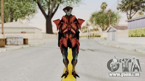 Mass Effect 3 Javik pour GTA San Andreas deuxième écran