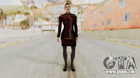 Mass Effect 3 Jack Official Skirt für GTA San Andreas zweiten Screenshot