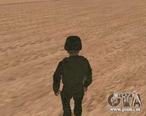 Privé d'infanterie motorisée de troupes pour GTA San Andreas sixième écran
