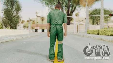 Manhunt 2 - Danny Prison Outfit für GTA San Andreas dritten Screenshot
