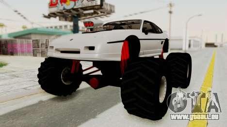Pontiac Fiero GT G97 1985 Monster Truck für GTA San Andreas