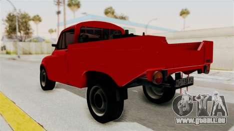 Zastava 850 Pickup für GTA San Andreas linke Ansicht