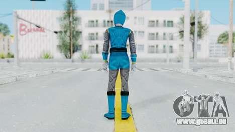 Power Rangers Ninja Storm - Blue für GTA San Andreas dritten Screenshot