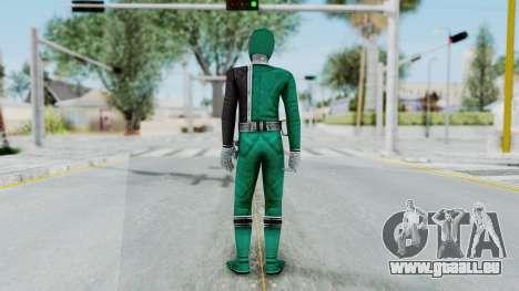Power Rangers RPM - Green pour GTA San Andreas troisième écran