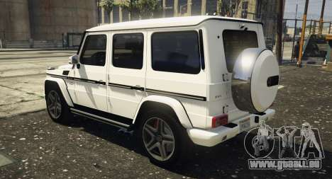 2013 Mercedes Benz G65 AMG [Replace] pour GTA 5