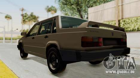 Volvo 740 für GTA San Andreas zurück linke Ansicht