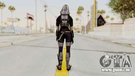 Mass Effect 3 Tali Zorah nar Rayya für GTA San Andreas dritten Screenshot