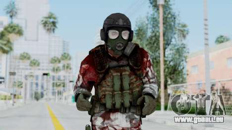 Black Mesa - Wounded HECU Marine v2 pour GTA San Andreas