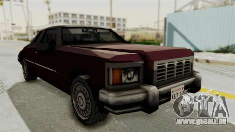 GTA Vice City - Idaho pour GTA San Andreas sur la vue arrière gauche