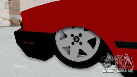 Tofas Dogan pour GTA San Andreas sur la vue arrière gauche