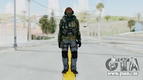 CoD AW KVA Assault pour GTA San Andreas deuxième écran