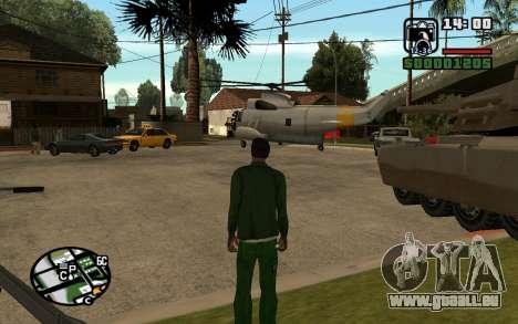 Eazy Vehicle Mod v1.0 pour GTA San Andreas troisième écran