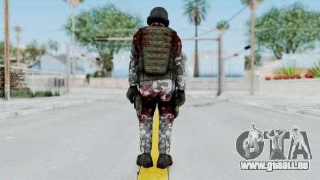 Black Mesa - Wounded HECU Marine v2 für GTA San Andreas dritten Screenshot