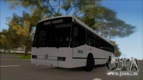 Mercedes-Benz O345 pour GTA San Andreas laissé vue