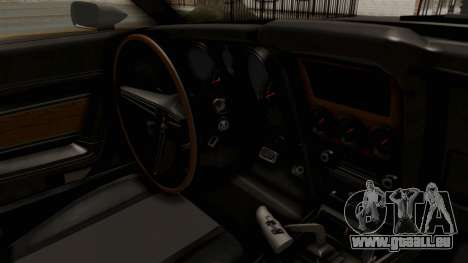 Ford Mustang 1971 Monster Truck pour GTA San Andreas vue intérieure