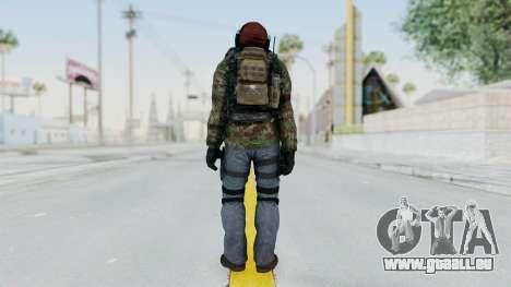 CoD AW KVA Assault pour GTA San Andreas troisième écran