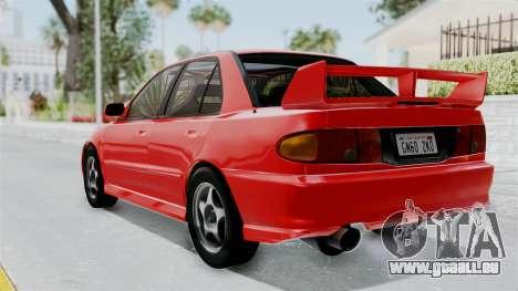 Mitsubishi Lancer Evolution III 1996 (CE9A) für GTA San Andreas linke Ansicht