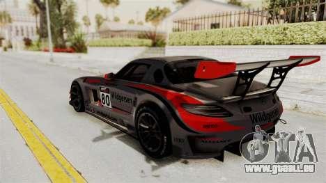 Mercedes-Benz SLS AMG GT3 PJ4 pour GTA San Andreas roue